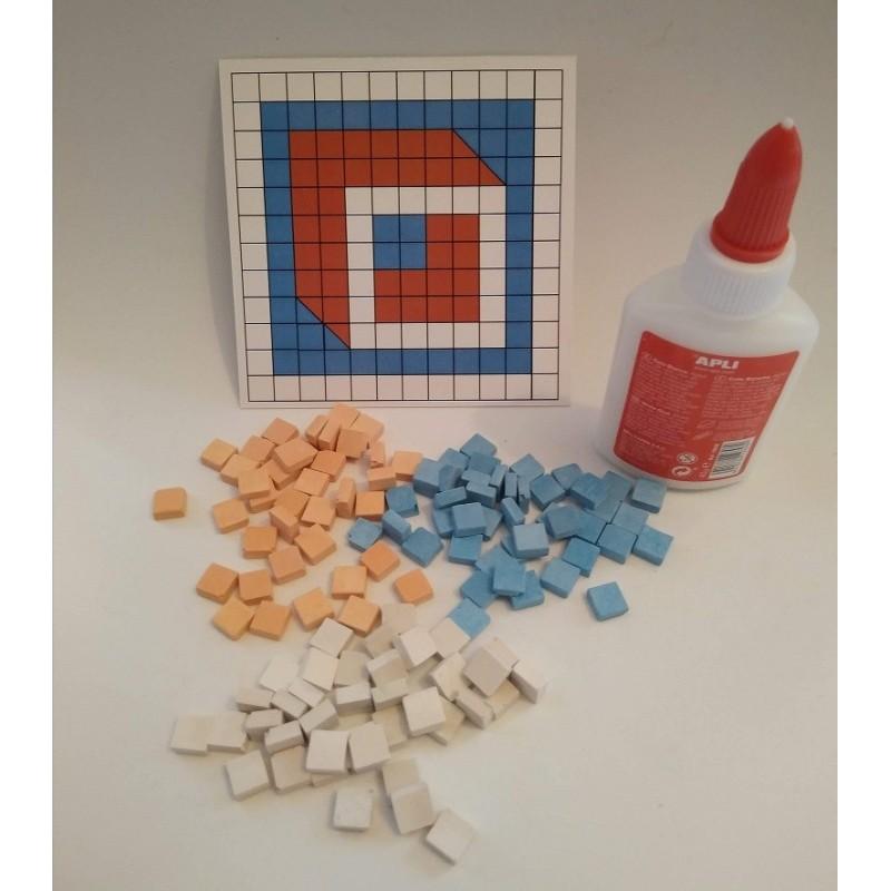 Kit mosaico de Iniciación Cubo